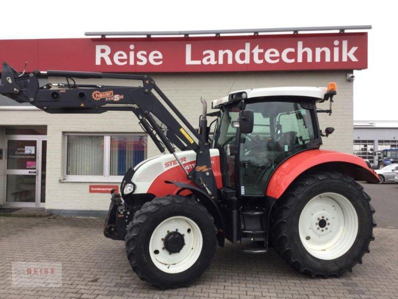 Traktor des Typs Steyr Profi 4110 Basis, Gebrauchtmaschine in Lippetal / Herzfeld (Bild 1)