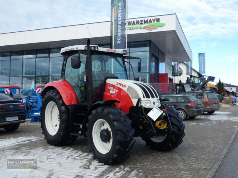 Traktor des Typs Steyr Profi 4110 Komfort, Gebrauchtmaschine in Aurolzmünster (Bild 1)