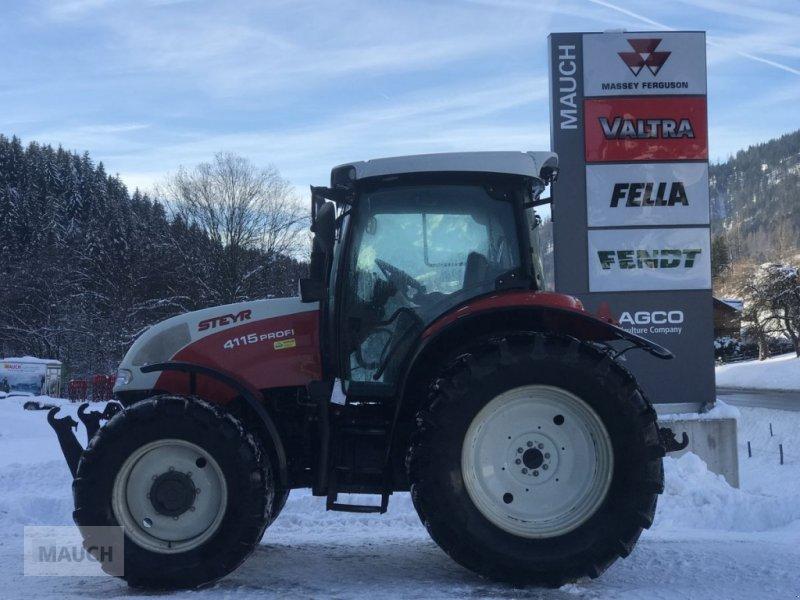 Traktor des Typs Steyr Profi 4115 + FH+FZW, Gebrauchtmaschine in Eben (Bild 8)
