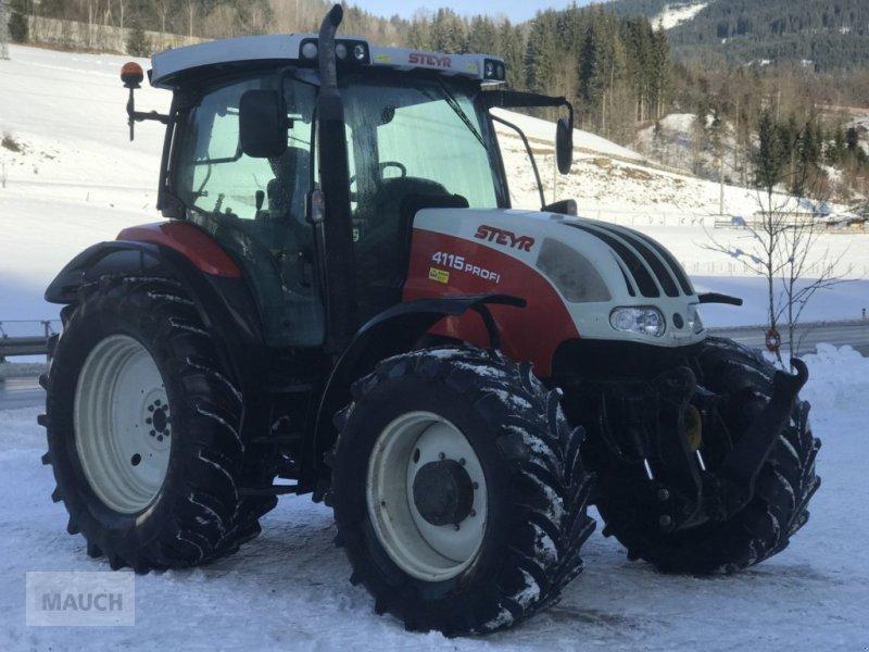 Traktor des Typs Steyr Profi 4115 + FH+FZW, Gebrauchtmaschine in Eben (Bild 4)