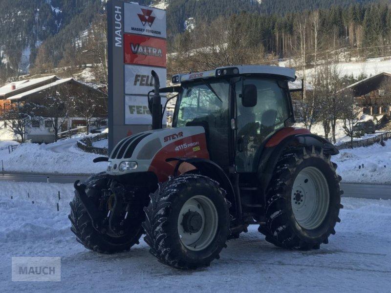 Traktor des Typs Steyr Profi 4115 + FH+FZW, Gebrauchtmaschine in Eben (Bild 2)