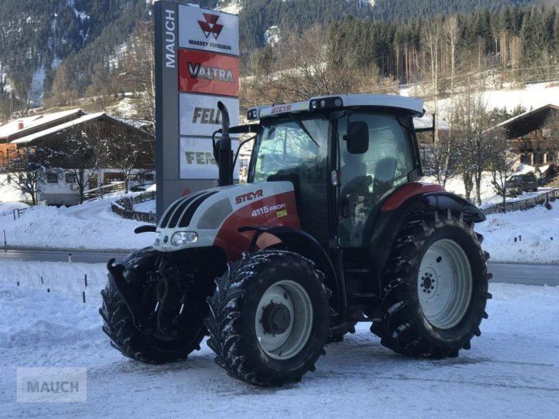 Traktor des Typs Steyr Profi 4115 + FH+FZW, Gebrauchtmaschine in Eben (Bild 1)