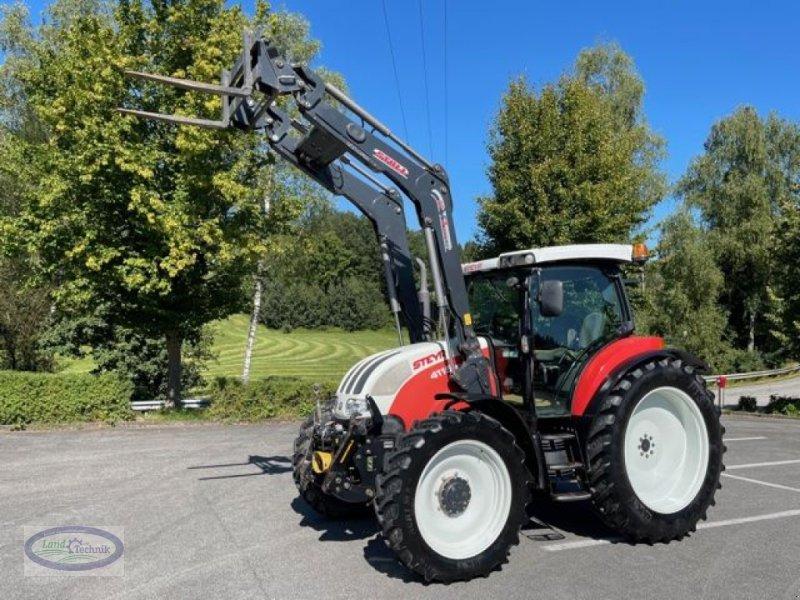 Traktor des Typs Steyr Profi 4115 Komfort, Gebrauchtmaschine in Münzkirchen (Bild 1)