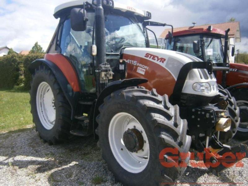 Traktor des Typs Steyr Profi 4115, Gebrauchtmaschine in Ampfing (Bild 1)