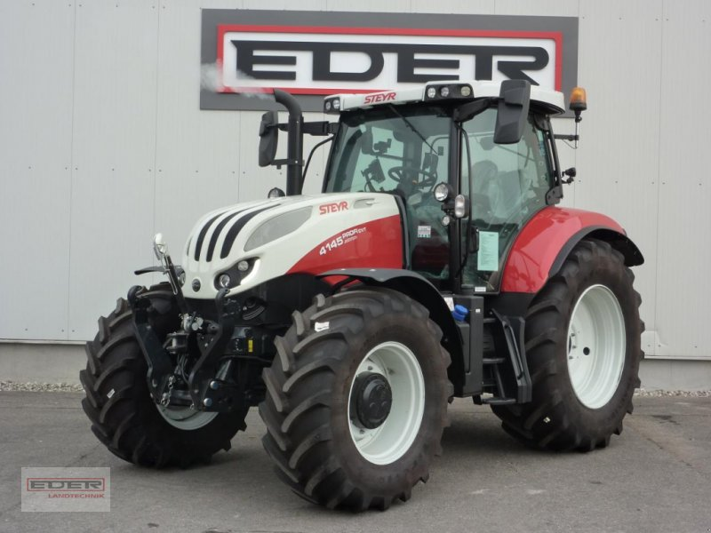 Traktor del tipo Steyr Profi 4145 CVT, Neumaschine en Tuntenhausen (Imagen 1)