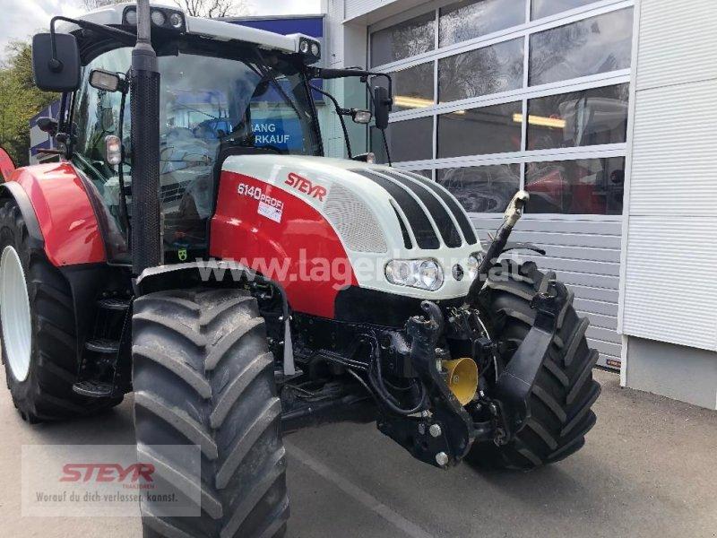 """Traktor des Typs Steyr PROFI 6140 """" PROFI """" 50 KM/H, Gebrauchtmaschine in Kilb (Bild 1)"""