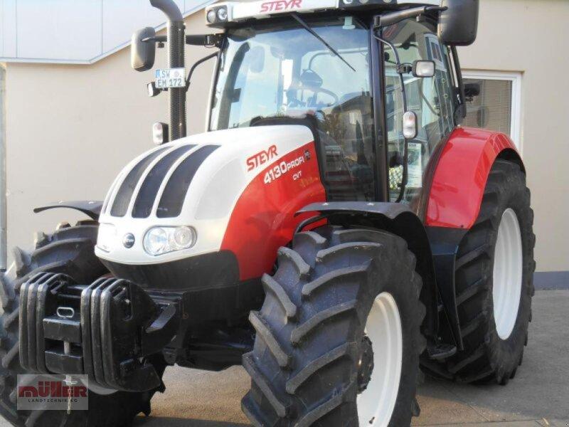 Traktor des Typs Steyr Profi CVT 4130, Gebrauchtmaschine in Holzhausen (Bild 1)