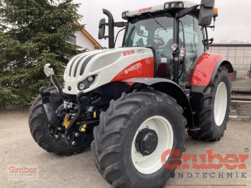 Traktor des Typs Steyr Profi CVT 6145, Neumaschine in Ampfing (Bild 1)