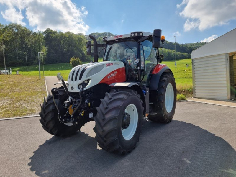 Traktor типа Steyr Profi CVT 6145, Ausstellungsmaschine в Steinmaur (Фотография 1)