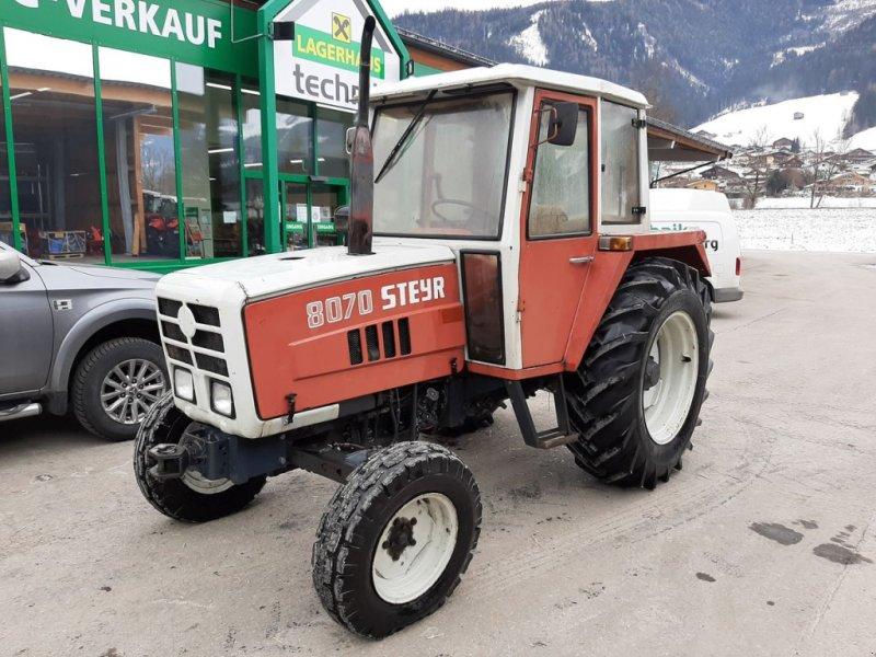 Traktor des Typs Steyr T 8070 H, Gebrauchtmaschine in Bramberg (Bild 1)