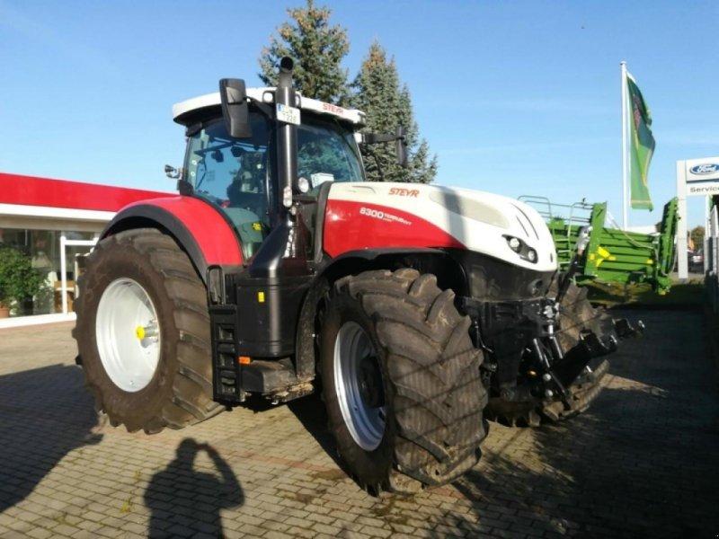 Traktor a típus Steyr TERRUS 6300 CVT, Neumaschine ekkor: Teterow (Kép 1)