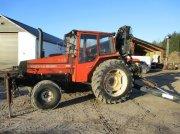 Valmet 805 Med 9 meter kran Traktor