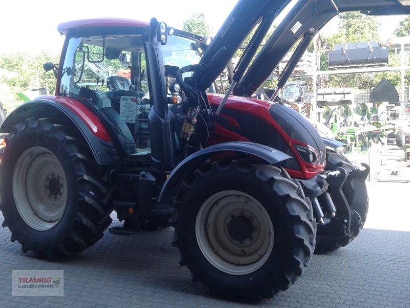 Traktor des Typs Valtra N 104H5 mit Fl, Neumaschine in Mainburg/Wambach (Bild 11)