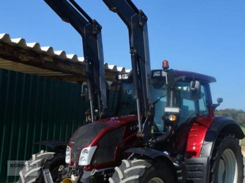 Traktor a típus Valtra N 143 Versu mit Frontlader Q66 Miete ab 22,90€/ Betriebsstunde möglich, Gebrauchtmaschine ekkor: Beselich-Obertiefenbach (Kép 1)