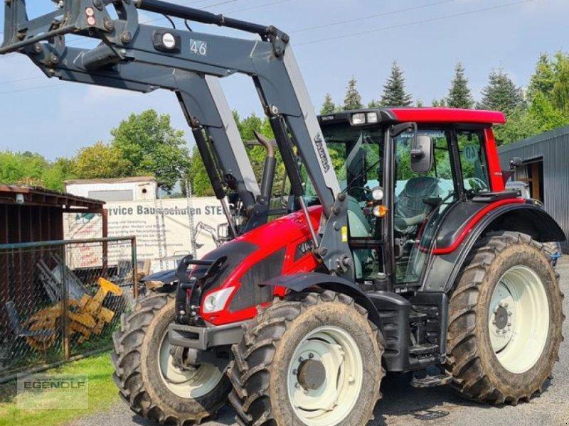 Traktor des Typs Valtra N103 H5 mit Frontlader, Gebrauchtmaschine in Beselich-Obertiefenbach (Bild 1)