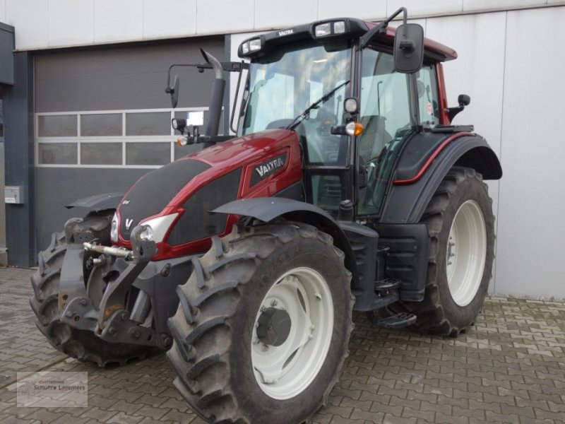 Traktor del tipo Valtra N103 HiTech H5, Gebrauchtmaschine en Borken (Imagen 1)