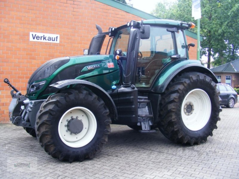 Traktor des Typs Valtra T 154 D, Gebrauchtmaschine in Norden (Bild 1)