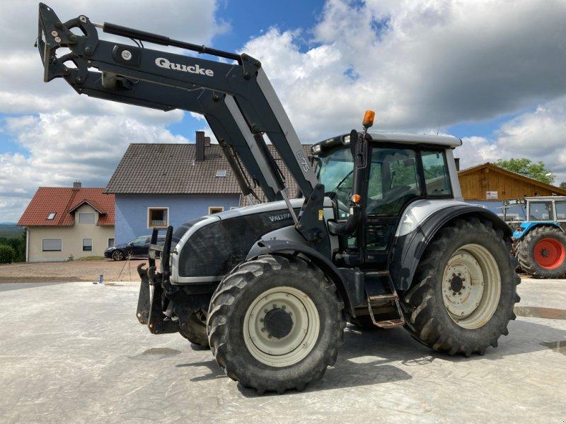 Traktor des Typs Valtra T 170 HiTech, Gebrauchtmaschine in Bodenwöhr/ Taxöldern (Bild 1)