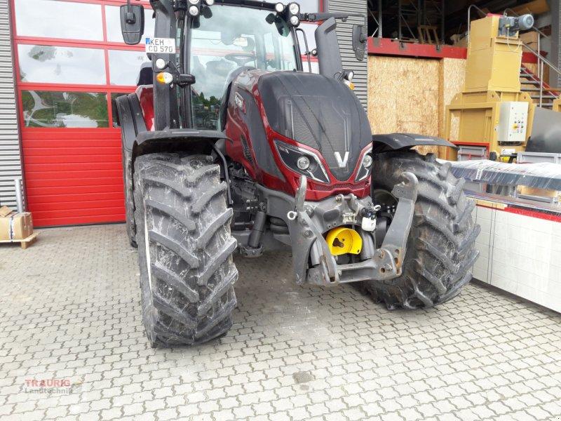 Traktor des Typs Valtra T 214D mit Rüfa, Gebrauchtmaschine in Mainburg/Wambach (Bild 3)