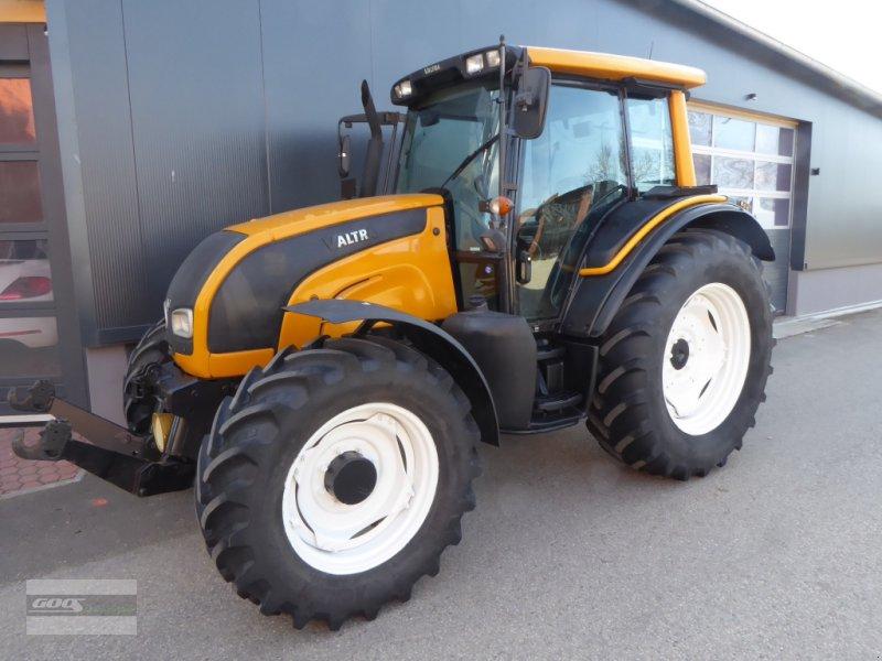 Traktor типа Valtra Valtra N91 H mit Fronthydr.+Zapfwelle, Klima, Druckluft. Gepflegt!, Gebrauchtmaschine в Langenzenn (Фотография 1)