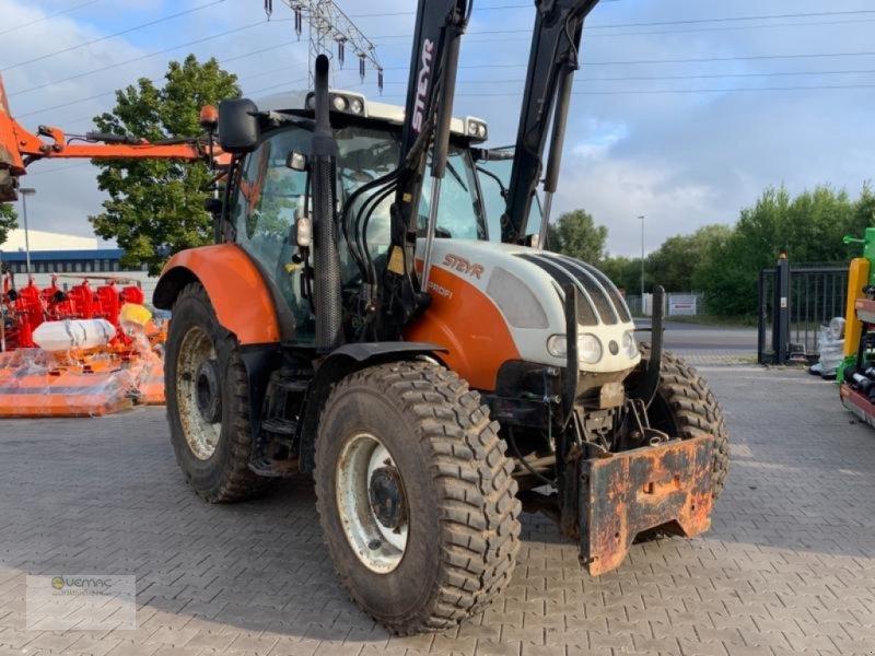 Traktor des Typs Vemac Steyr 4120 Profi Kommunal Frontlader Fronthydraulik Traktor, Gebrauchtmaschine in Osterweddingen / Magdeburg (Bild 1)