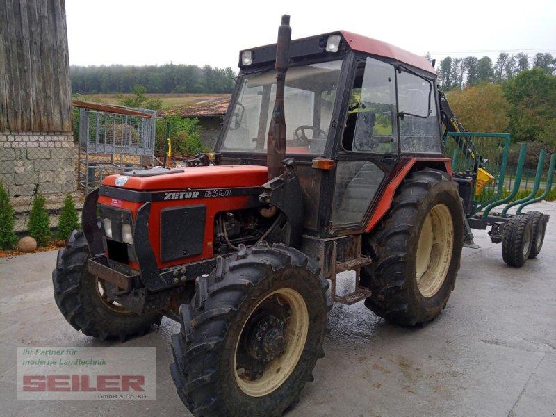 Traktor des Typs Zetor 6340, Gebrauchtmaschine in Burghaslach (Bild 1)