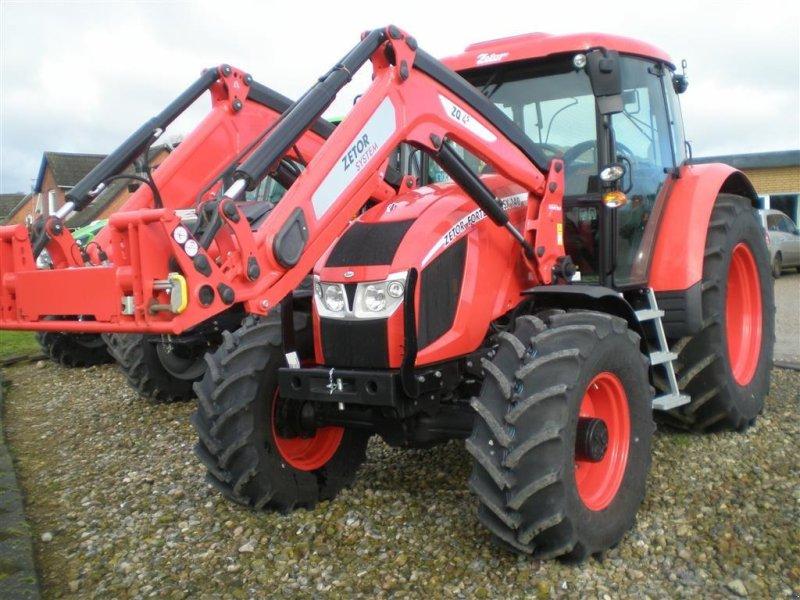 Traktor типа Zetor HSX 140 Med frontlæsser Udstillingsmodel., Gebrauchtmaschine в Otterup (Фотография 1)