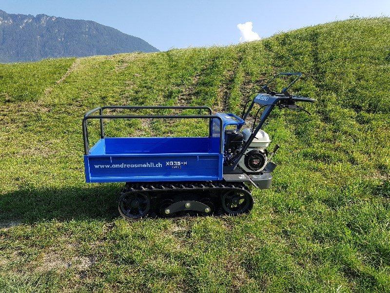 Transportfahrzeug des Typs Iseki XG35-H Raupenkarrette, Neumaschine in Chur (Bild 1)