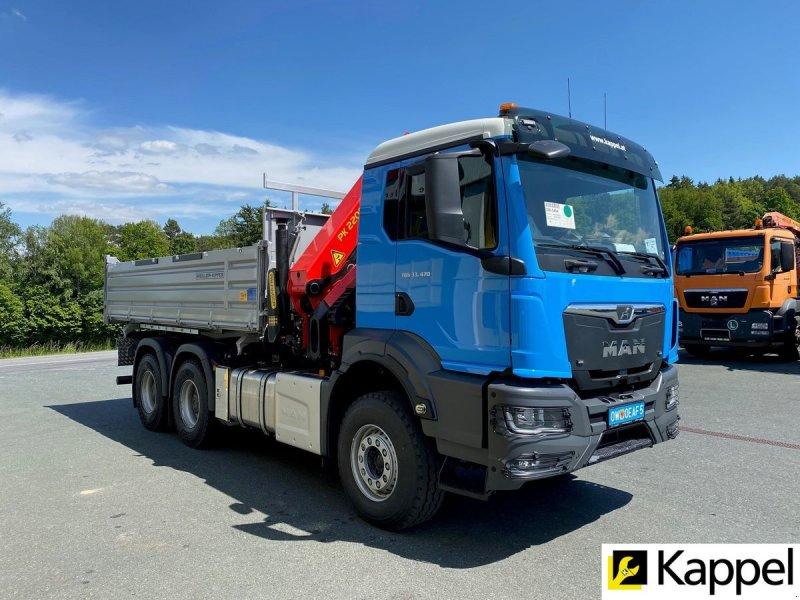 Unimog типа MAN 3-Achser oder 4-Achser mit Kran und Kipper, Neumaschine в Mariasdorf (Фотография 1)