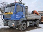 MAN TGA 18.390 4x4 LKW Kipper mit Kran Универсальный грузовик-вездеход Unimog