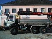 Mercedes-Benz 2536 Kipper mit Palfinger PK19000 Kran Unimog