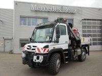 Mercedes-Benz U 423 mit Hiab Kran X-HiPro 192E-6 Универсальный грузовик-вездеход Unimog