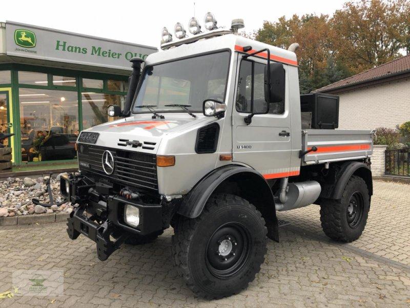 Unimog typu Mercedes-Benz U1400  TÜV neu, Bremsen neu, Gebrauchtmaschine w Rubenow OT Groß Ernsthof (Zdjęcie 1)