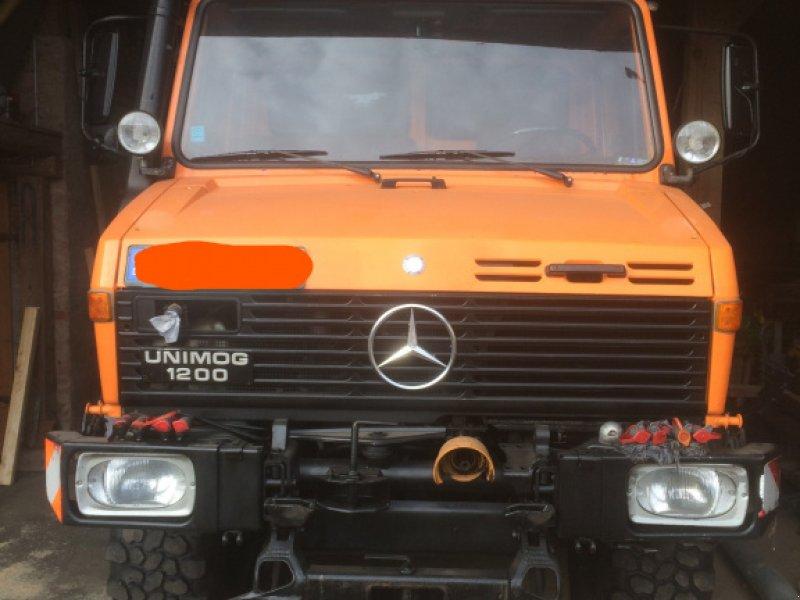 Unimog tip Mercedes-Benz Unimog U 1200, Gebrauchtmaschine in Bruckberg (Poză 1)