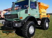 Unimog of the type Mercedes-Benz Unimog U 1600 mit original 241 PS BM 427.107 Heckkraftheber, Gebrauchtmaschine in Warmensteinach