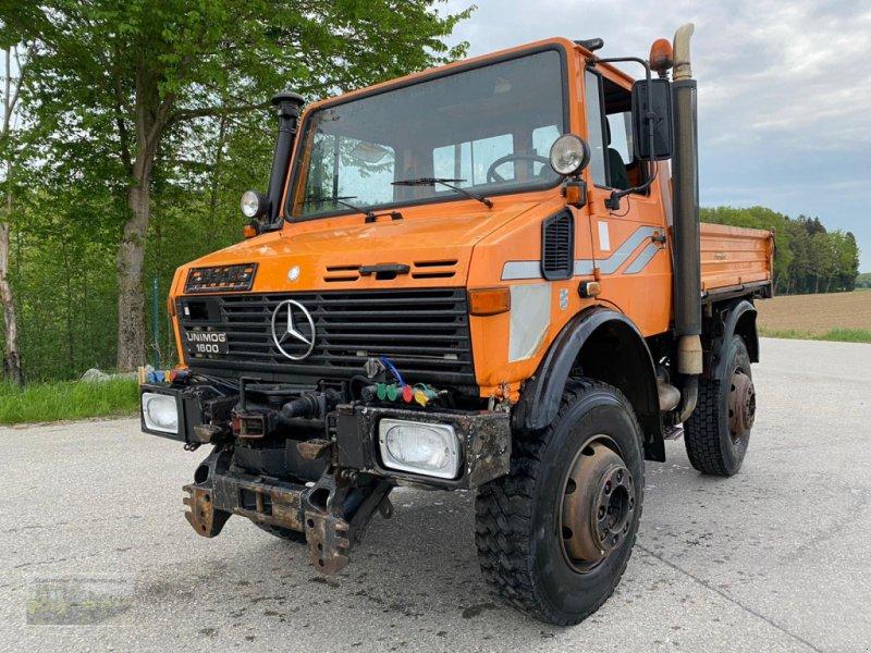Unimog des Typs Mercedes-Benz Unimog U 1600, Gebrauchtmaschine in Kienberg (Bild 1)