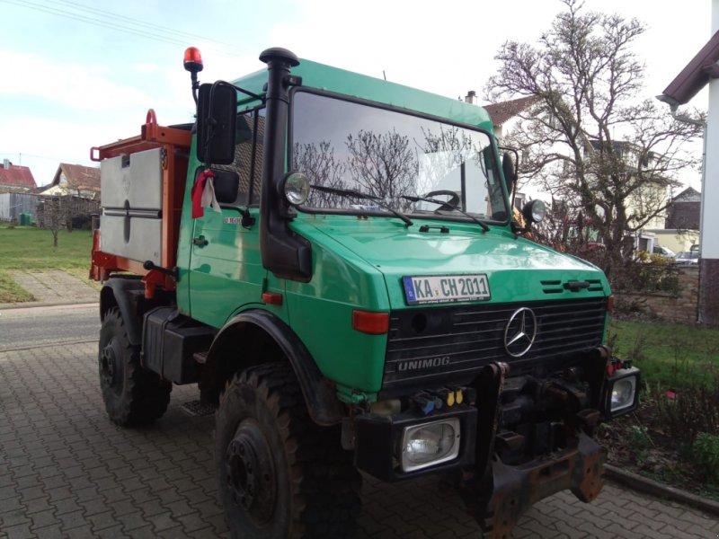 Unimog des Typs Mercedes-Benz Unimog U 1600, Gebrauchtmaschine in Marxzell (Bild 1)