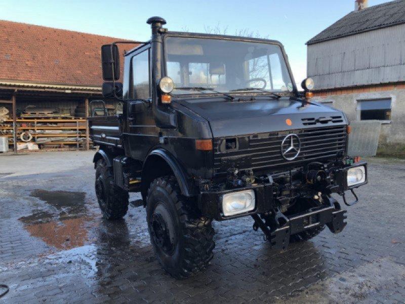 Unimog tip Mercedes-Benz Unimog U 1600, Gebrauchtmaschine in Rehling (Poză 1)