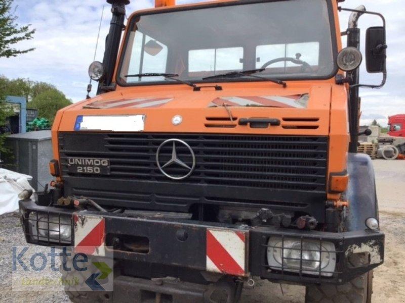 Unimog des Typs Mercedes-Benz Unimog U 2150, Gebrauchtmaschine in Rieste (Bild 1)
