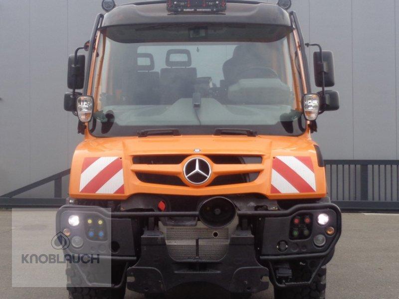 Unimog typu Mercedes-Benz Unimog U 218, Neumaschine w Immendingen (Zdjęcie 2)