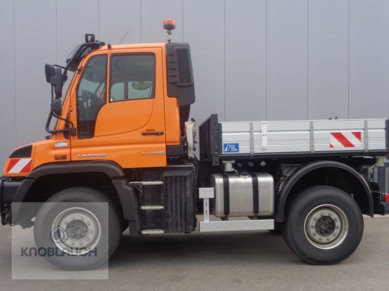 Unimog a típus Mercedes-Benz Unimog U 430, Neumaschine ekkor: Immendingen (Kép 3)