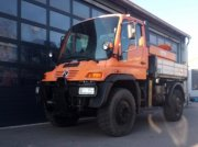 Unimog of the type Mercedes-Benz Unimog U 500, Gebrauchtmaschine in Heimstetten