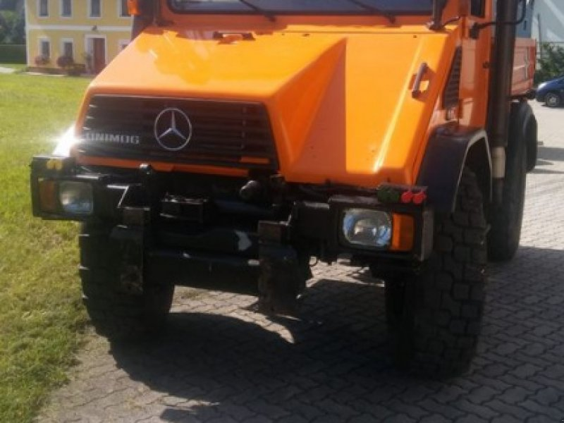 Unimog typu Mercedes-Benz Unimog U140, Gebrauchtmaschine w Ebensee (Zdjęcie 6)