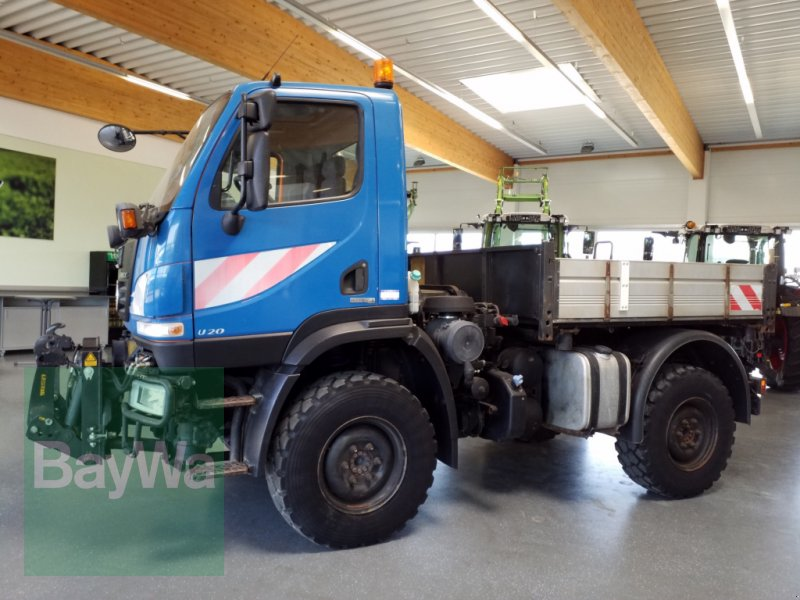 Unimog du type Mercedes-Benz Unimog U20, Gebrauchtmaschine en Bamberg (Photo 5)