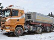 Scania G440 CA4x4HHZ Sattelzugmaschine m. Kippauflieger Unimog