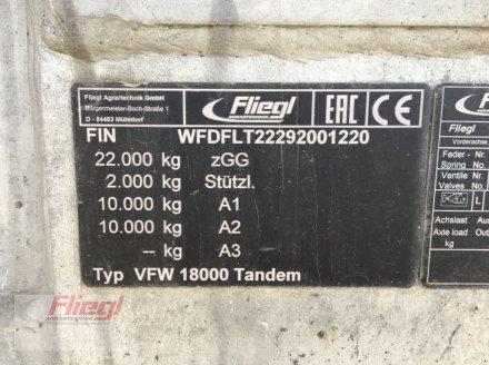 Vakuumfaß du type Fliegl VFW 18000l Tandem, Gebrauchtmaschine en Mühldorf (Photo 9)