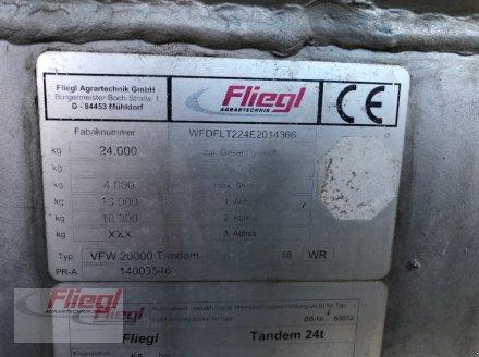 Vakuumfaß du type Fliegl VFW 20000 Tandem, Gebrauchtmaschine en Mühldorf (Photo 12)
