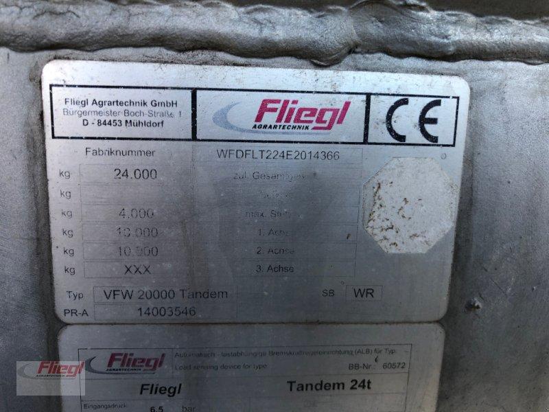 Vakuumfaß typu Fliegl VFW 20000 Tandem, Gebrauchtmaschine v Mühldorf (Obrázok 12)