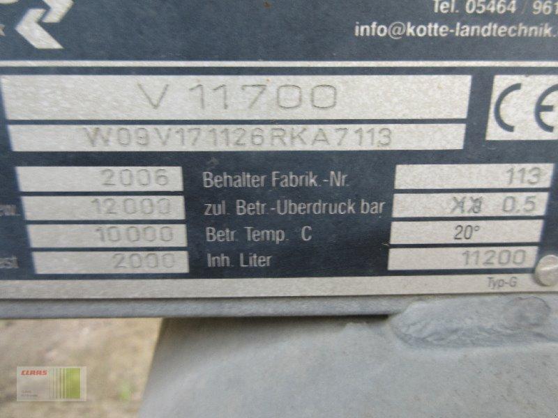 Vakuumfaß типа Kotte V 11700, Gebrauchtmaschine в Weddingstedt (Фотография 3)