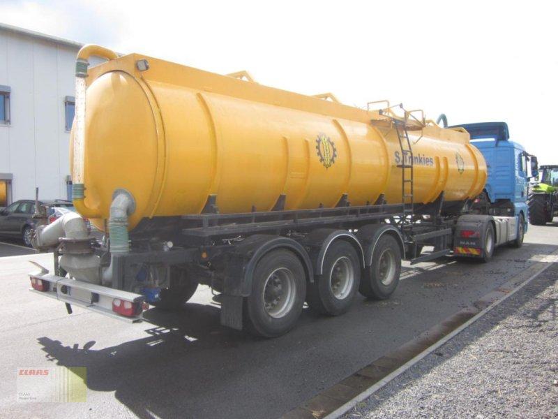 Vakuumfaß des Typs Sonstige Kässbohrer STC 26400 Dreiachs-Vakuum-Gülletransporter, Tanksattelauflieger, Edelstahl, Zubringer, Gebrauchtmaschine in Molbergen (Bild 1)